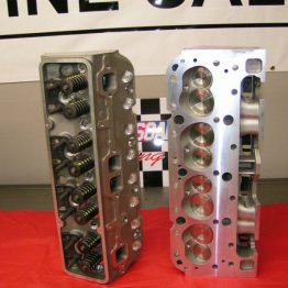 CHEVY 350 TBI ALUMINUM CYLINDER HEADS 2.02/1.60