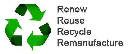renew, reuse, recycle, remanufacture engines